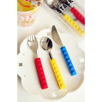 Детские столовые приборы LEGO