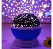"Ночник-проектор звездного неба вращающийся ""Звездное небо"""