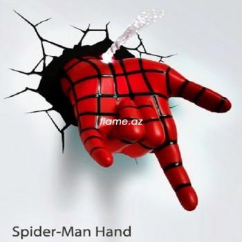 3D светильник «Рука Человека-паука»