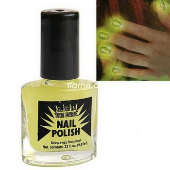 Фосфорный лак для ногтей