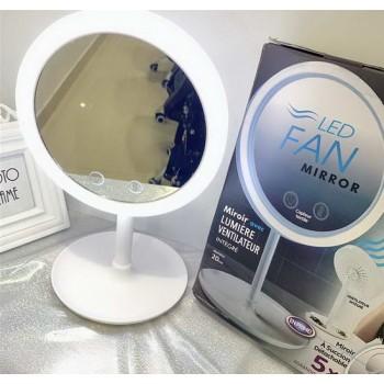 Настольное косметическое зеркало для макияжа с подсветкой