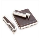Набор подарочный Honest (портсигар+зажигалка+нож)