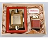 Набор подарочный Times Pioneer пепельница и зажигалка