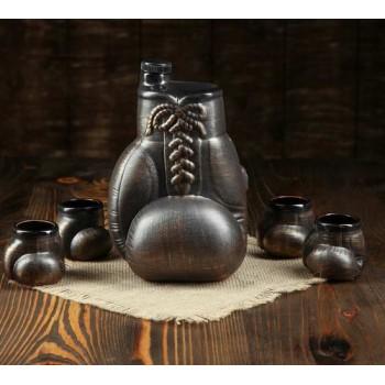 """Набор для коньяка """"Боксерская перчатка"""" (5 предметов)"""