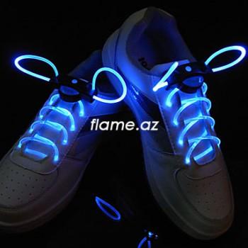 Светодиодные шнурки (голубые)