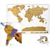 """Стирающаяся карта мира """"Scratch-map"""""""