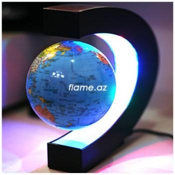 Левитирующий глобус с Led подсветкой