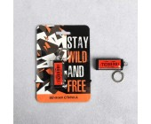 """Вечная спичка """"Stay wild and free"""""""