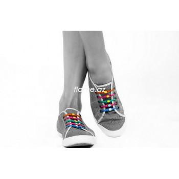 Силиконовые шнурки для обуви V-Tie