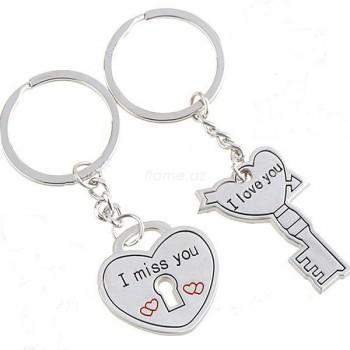 """Брелок для влюбленных """"Ключ к сердцу"""""""