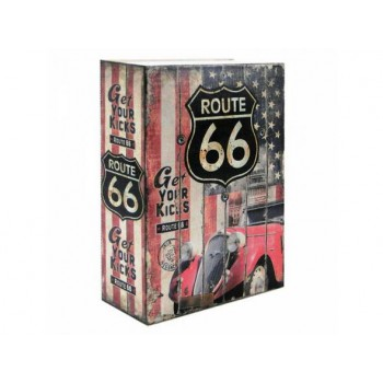"Необычная Сейф-книга ""Route 66"""