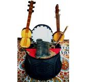 """Национальный сувенир """"Тар, каманча и гавал"""" с мелодией гимна"""