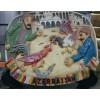 Азербайджанский сувенир-миниатюра на подставке