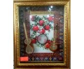 Азербайджанский национальный сувенир в рамке