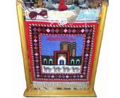 Национальный сувенир мини ковер