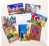 Азербайджанские открытки 3D
